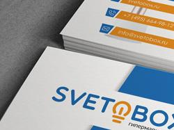 Визитка Svetobox