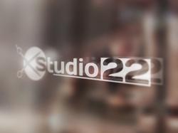 "Логотип салона красоты ""Studio 22"""
