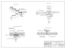 Планы, фасады, разрезы и узлы