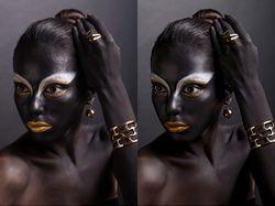High End ретушь Beauty портрета