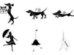 Иконки в французском стиле