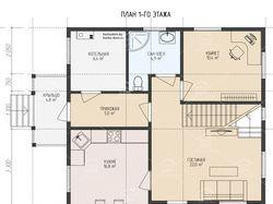 План дома в Архикад для строительной компании