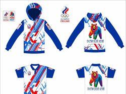 Спортивный паттерн для коллекции одежды
