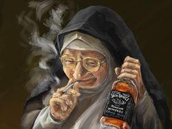 Шальная монашка