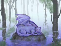 """иллюстрация к рассказу """"драконий камень"""""""