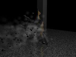 Расстрелянная колонна