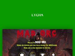Madorc landing page