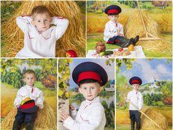 Потоковая ретушь сюжетных фото детей