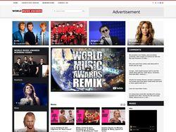 Музыкально-информационный сайт