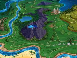 Карта мира для настольной игры
