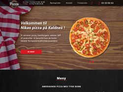 Сайт «Nikas Pizza»