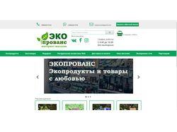 Разработка интернет-магазина по экопродуктам