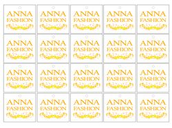 Логотип для одежды Anna Fashion