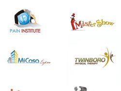 Мои логотипы с 2006 года по 2018
