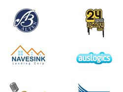 Дизайн логотипов по Сергея Галкина