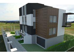 Проект Double House на две семьи
