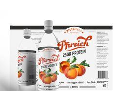 Этикетка для персикового чая (Germany)