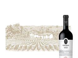 Иллюстрация для винной этикетки (Moldova)
