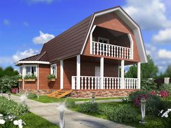 3d визуализация проектов домов.