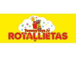 Эскиз вывески магазина игрушек TommyToy`s