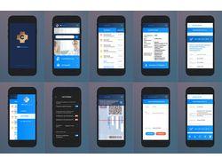 Мобильное приложение - работа с ЛМК на предприятии