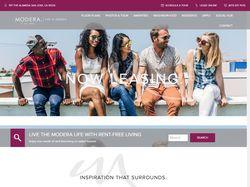 Верстка корпоративного сайта по аренде квартир
