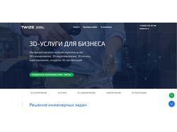 Тестирование сайта twize.ru