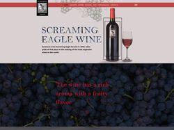 Дизайн лендинга для винодельческой компании