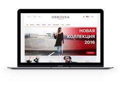 Интернет магазин одежды Obnovka
