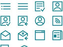 Пиктограммы сайта glyphs