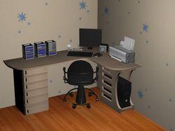 Дизайн рабочой комнаты