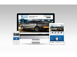 Сайт лизинговой компании