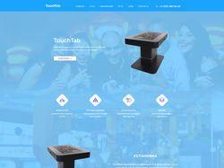 Адаптивная верстка Landing page TouchTab