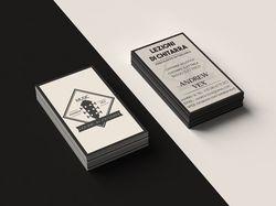 Разработка визитныx карточек