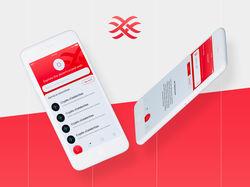 Дизайн мобильного приложение Aryl