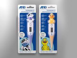 Детская упаковка для термометров
