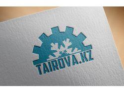 Логотип магазина холодильного оборудования.
