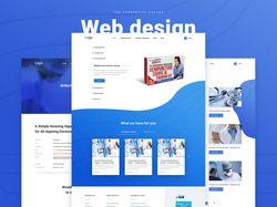 Веб дизайн | Продажа мед. курсов