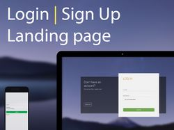 Login | Sign Up page (adaptive)
