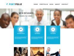 Дизайн для сайта-портфолио
