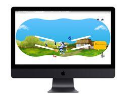 HTML5 canvas игра к пасхе для Простоквашино