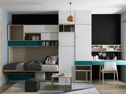 Проект комнаты общежития