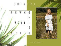 Карточка для новой коллекции одежды