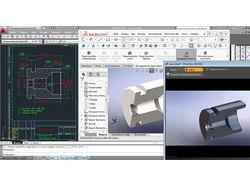Создание 3D моделей в SolidWorks.