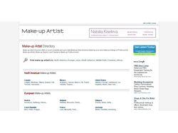 Make-up Artist Directory