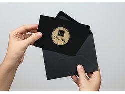 Дизайн открытки для рассылки покупателям