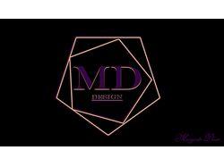 Логотип MARGARITA DUSIN(MD)