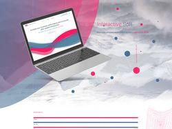 Сайт для Interactive Soft