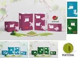 Разработка торговой марки и серии упаковок.