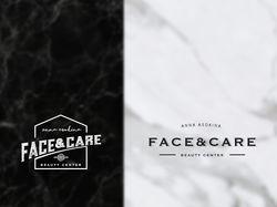 Логотип для салона красоты Face&Care